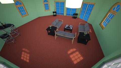 Simple Apartment Living  - Living room - by MimiB115