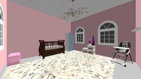 Girls Nursery - Kids room  - by CarolineTheCreator04