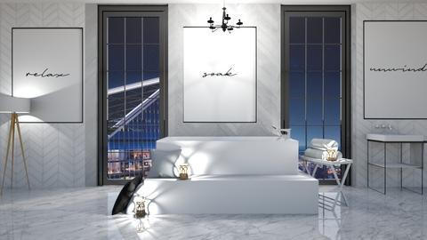 NewYorkNight - Modern - Bathroom  - by deleted_1623825262_Lulu12345678910