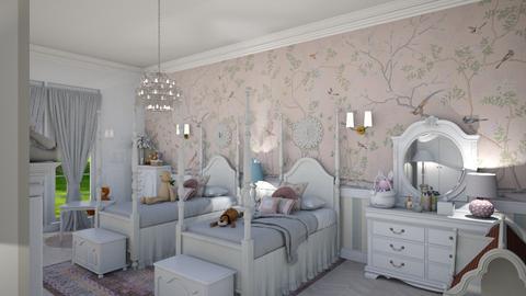 Girls Twin Room 1 - Kids room  - by Fofinha