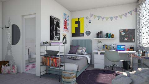 erasmus dorm - Feminine - Bedroom  - by bibi_pat