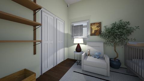 Nursery rearranged - Modern - Kids room  - by eulampia