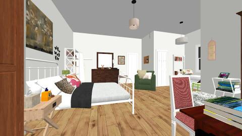 Emilys bedroom PLL - Country - Bedroom  - by mariaa23st