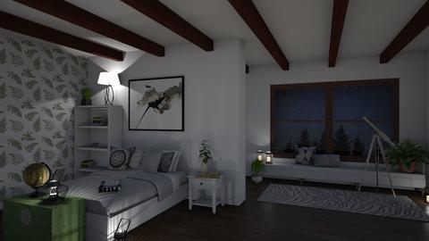 Night Sky Bedroom - by Rohne