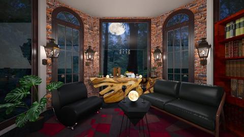Moonlight shadow - Feminine - Living room  - by BlackOrchidea