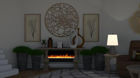 Tanish - Rustic - Living room  - by deleted_1607709771_Aesthetic Design