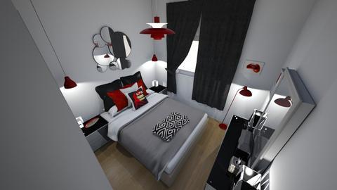 proyecto dormitorio  - Modern - by maiko 0309