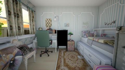 Vintage Girl Bedroom - Vintage - Kids room  - by Euthymia
