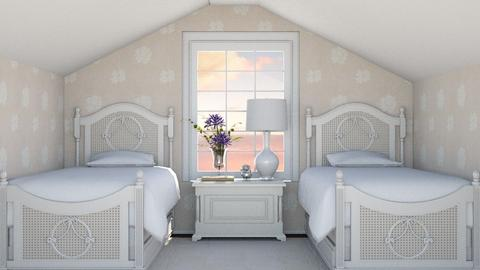 Twins Bedroom - Bedroom  - by zozan