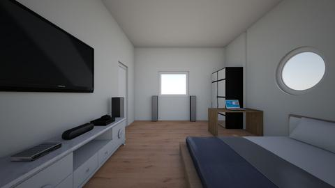 Sean bedroom 2 - Modern - Bedroom  - by Seanwhite