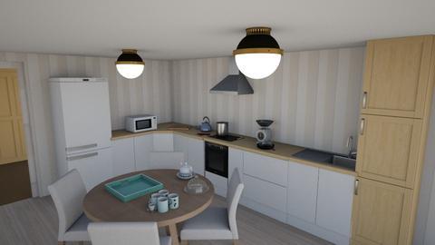 Simple Simple Kitchen - Kitchen  - by Oyisha