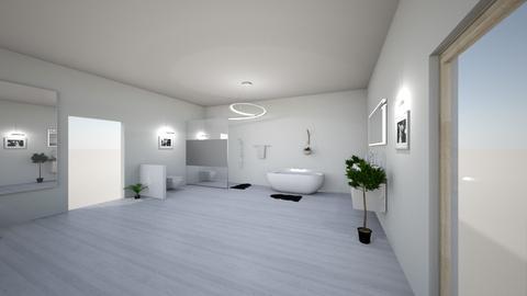 bedroom with bathroom - Bathroom - by eriknochta