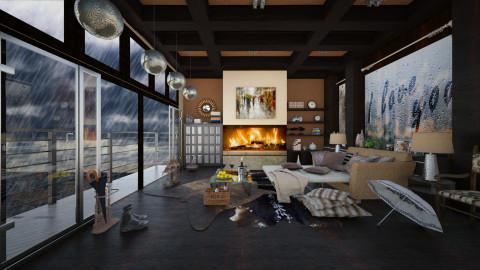 Rain  - Eclectic - Living room - by Ida Dzanovic