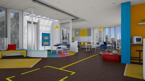 Yellow Colors office - Office  - by pachecosilv