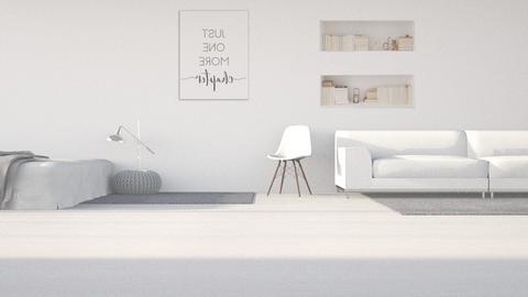 Reflect - Minimal - Bedroom  - by kanrxji