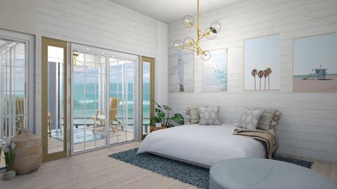 Beach Living - Modern - Bedroom  - by LuluDesignStyle