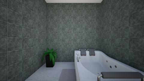 salle de bain - Vintage - Bathroom  - by ishratnaba2002