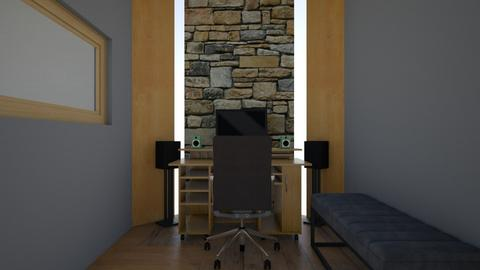 studio part 1 - Rustic - Office  - by hernandezbass