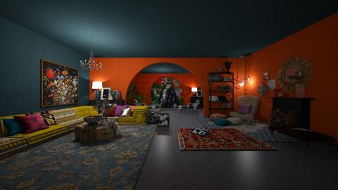 Gypsy - Eclectic - Living room  - by regenboogdwerg
