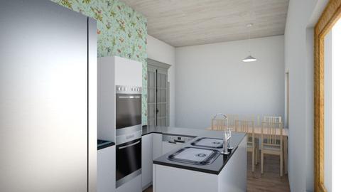 Kirkjuvegur 6 - Kitchen  - by fru_jorgensen
