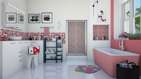 Banheiro Pink  - Bathroom  - by Sanare Sousa