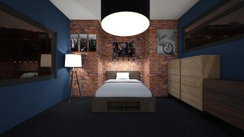 Urban bedroom - Rustic - Bedroom  - by MLGA07