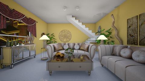 Pastel City - Country - Living room  - by Irishrose58