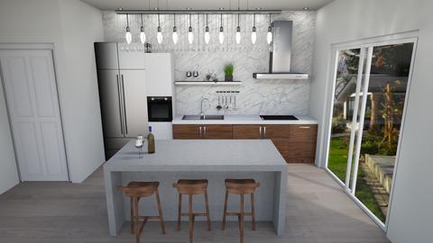 4983 Camden - Kitchen - by cienwiatru