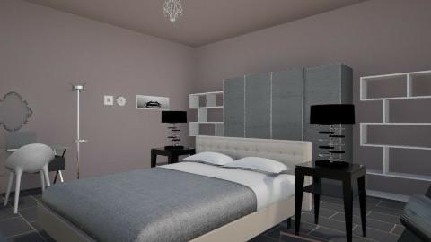 bedroom - Vintage - Bedroom  - by sotiria1835