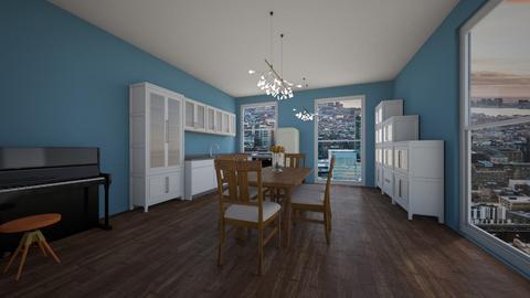 Kitchen - Global - Dining room - by Twerka