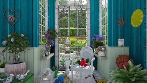 M_Garden house - Garden  - by milyca8