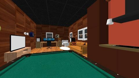 Man Cave - Office  - by Divv