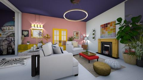 Boho living  - Living room  - by Smiljka Kostic