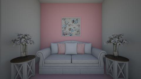 pink sofa - by kez12