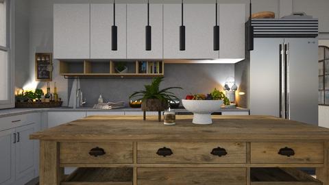 two - Kitchen  - by Anjuli