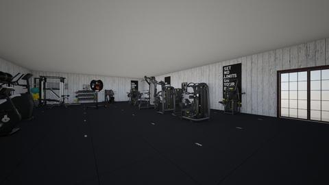 Home Gym - Minimal - by diamondrex