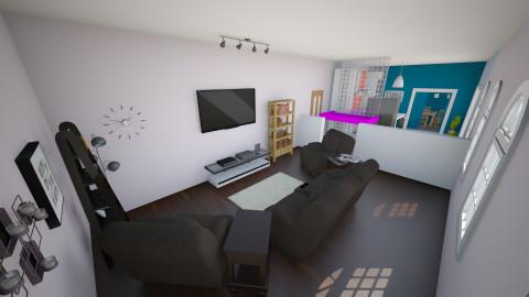 Living Room - Minimal - Living room - by interiordesignmajor013