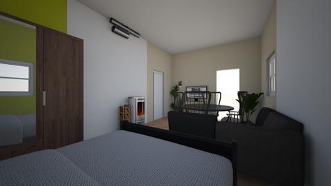 jini - Bedroom - by riikkardo