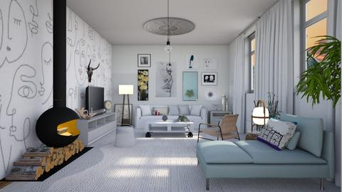 Scandi  style - Global - Living room - by augustmoon