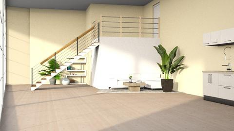 Stairs 2 - Living room  - by kitacat