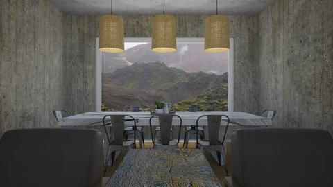 rustic dining - Dining room - by Soleys