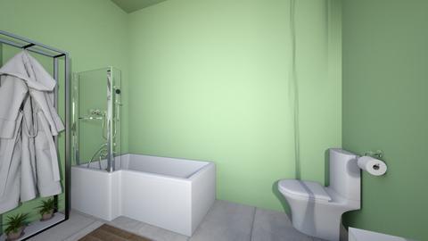 ua bathroom - Bathroom  - by LibertyPrincess