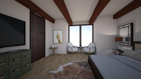 Juliana Bedroom - Rustic - Bedroom  - by jnwilson101