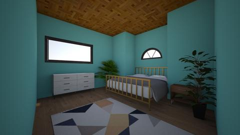 Hawiian Room - Bedroom - by ClaireCora