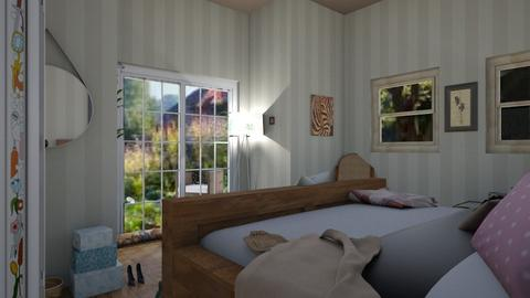 Cozy Bedroom - Country - Bedroom  - by KitchenCat
