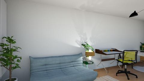 Barrow St apt Aug 21 5 - Modern - Living room  - by Considered Living