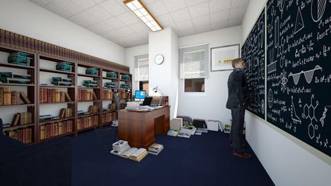 Physicist's Office - Office  - by SammyJPili