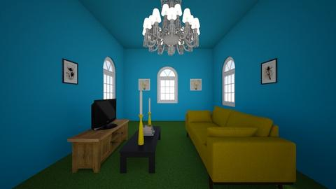 Sunflower - Living room  - by Angela12345678910