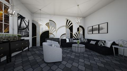 Art deco LV - Modern - Living room  - by Agamanta