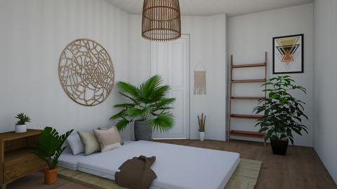 MI 08 - Minimal - Bedroom  - by i l o n a